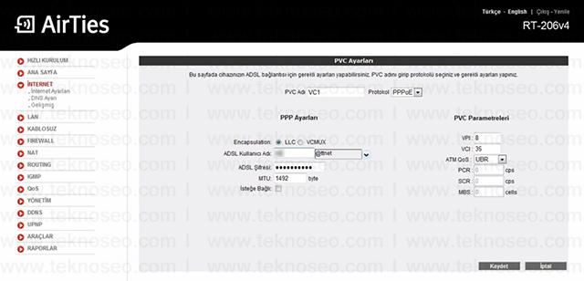 airties rt-206v4 arayüz giriş şifresi,airties rt-206v4 modem kurulumu,airties rt-206v4 kablosuz ayarları,airties rt-206v4 sıfırlama