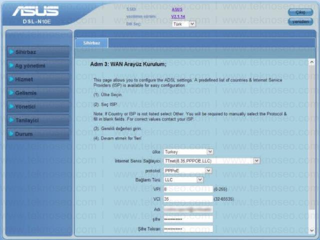asus dsl-n10e arayüz giriş şifresi,asus dsl-n10e modem kurulumu,asus dsl-n10e kablosuz ayarları,asus dsl-n10e sıfırlama