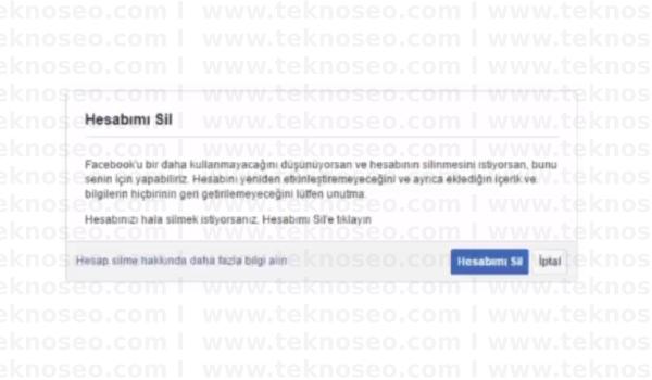 facebook hesabını kalıcı olarak silme,facebook hesap silme linki,facebook kalıcı olarak kapatma,facebook hesap silme resimli anlatım