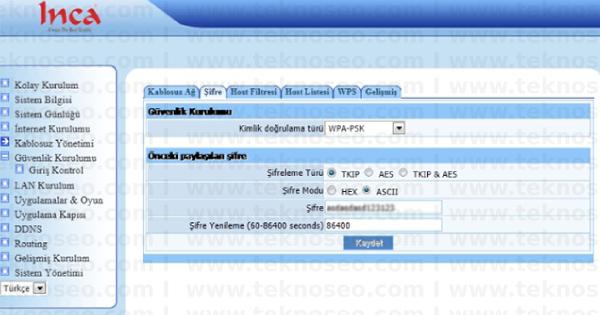 inca im-205nx arayüz giriş şifresi,inca im-205nx modem kurulumu,inca im-205nx kablosuz ayarları,inca im-205nx sıfırlama