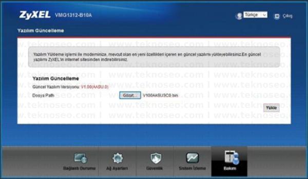 zyxel vmg1312-b10a yazılım güncelleme,zyxel vmg1312-b10a firmware indir,zyxel vmg1312-b10a firmware download,zyxel vmg1312-b10a yazılım güncelleme dosyası indir