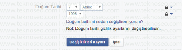facebook doğum tarihi değiştiremiyorum,facebook doğum tarihi nasıl değiştirilir,facebook doğum tarihi değiştirememe sorunu,facebook doğum tarihi kısmı kilitli