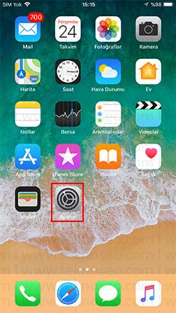 iphone uyarılar için led flaş,iphone bildirim ışığı,iphone flaşı açma,aramalar için led flaş nasıl açılır
