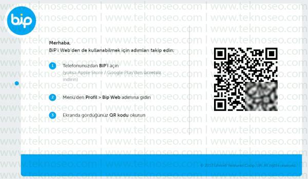 bip web,bip web bilgisayardan nasıl kullanılır,bip web ayarları