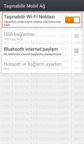 general mobile discovery hotspot nasıl açılır,general mobile discovery hotspot şifresi,general mobile discovery internet paylaşımı,general mobile discovery internet paylaşım şifresi