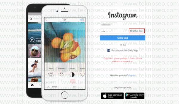 instagram şifremi değiştiremiyorum hata veriyor,instagram şifre yenileme maili gelmiyor,instagram şifre yenileme linki,instagram e-posta ile şifre sıfırlama