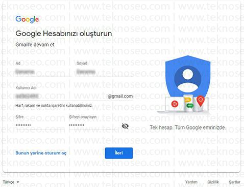 google hesap aç,google hesabı nasıl açılır,gmail hesabı aç,gmail hesap açma,gmail hesabı nasıl açılır