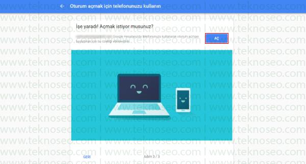google 2 adımlı doğrulama,google hesap güvenliği,google hesap güvenliği için telefon onayı,google hesap 2 adımlı doğrulama nasıl yapılır