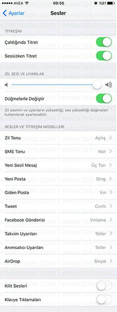 iphone kilit sesi çıkmıyor,iphone kilit sesi açma,iphone tuş sesi açma,iphone tuş sesi kapatma