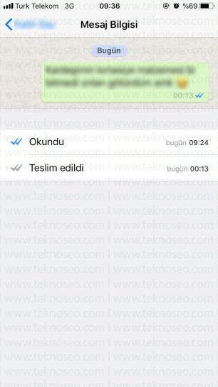 whatsapp mesajlarımın başkası tarafından okunduğunu nasıl anlarım,mesajın okunduğunu anlamak,whatsapp mesajların okunduğunu nasıl anlarım,iphone,android