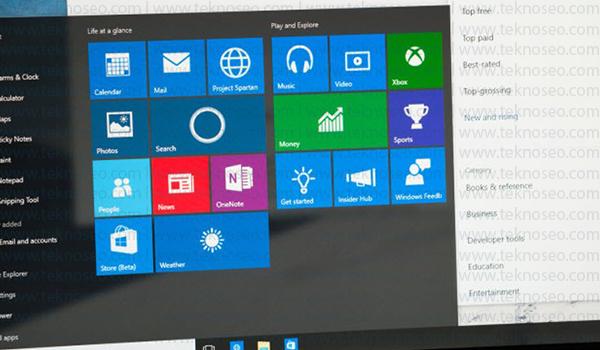 windows 10 başlat menüsü açılmıyor,windows 10 başlat menüsü tepki vermiyor,başlat menüsü sorun giderici,windows 10 arama çalışmıyor,windows 10 arama kutusu çalışmıyor