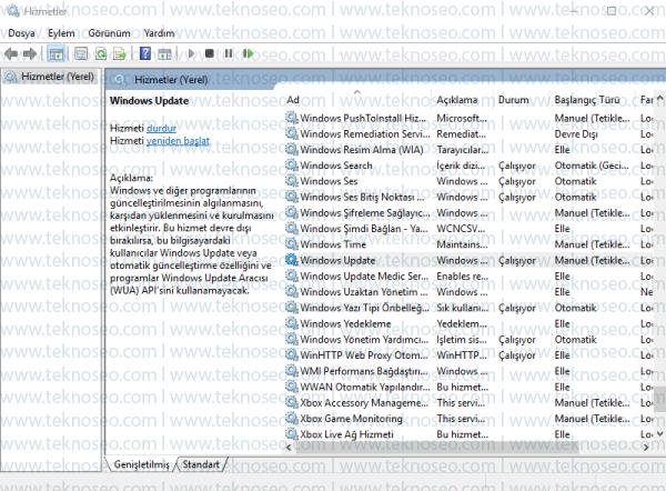 windows 10,güncelleştirme kapatma,windows 10 update kapatma,windows 10 güncelleştirme devre dışı bırakma