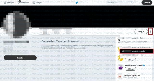 twitter,twitter kişi engelleme,twitter engelleme kaldırma